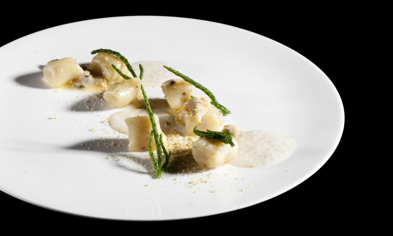 Ricetta Gnocchi In Colla.Ricetta Di Natale Gnocchi Di Topinanbur Chef Valentino Cassanelli Chef E Ricette
